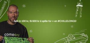 50 kr gratisbonus + 500 % og ChilleLongs