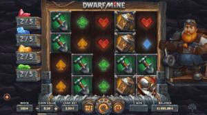 dwarfs mine slot ny spilleautomat