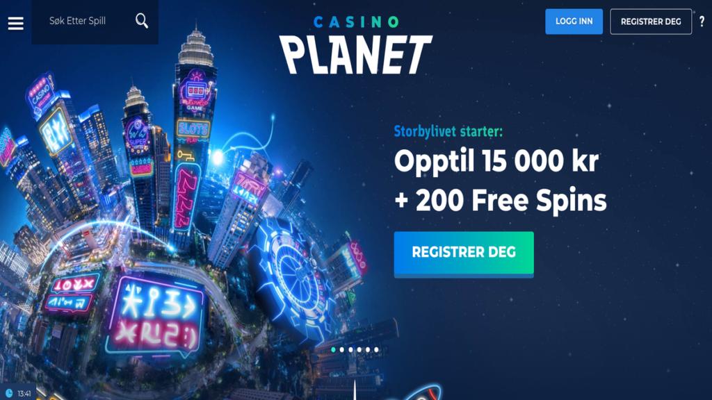 Anmeldelse av CasinoPlanet