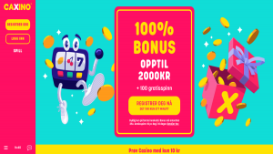 Anmeldelse av Caxino casino med mobilbetaling